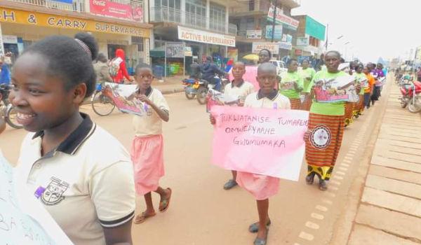 Activism on Gender Based Violence (GBV) in Kabale District in 2018